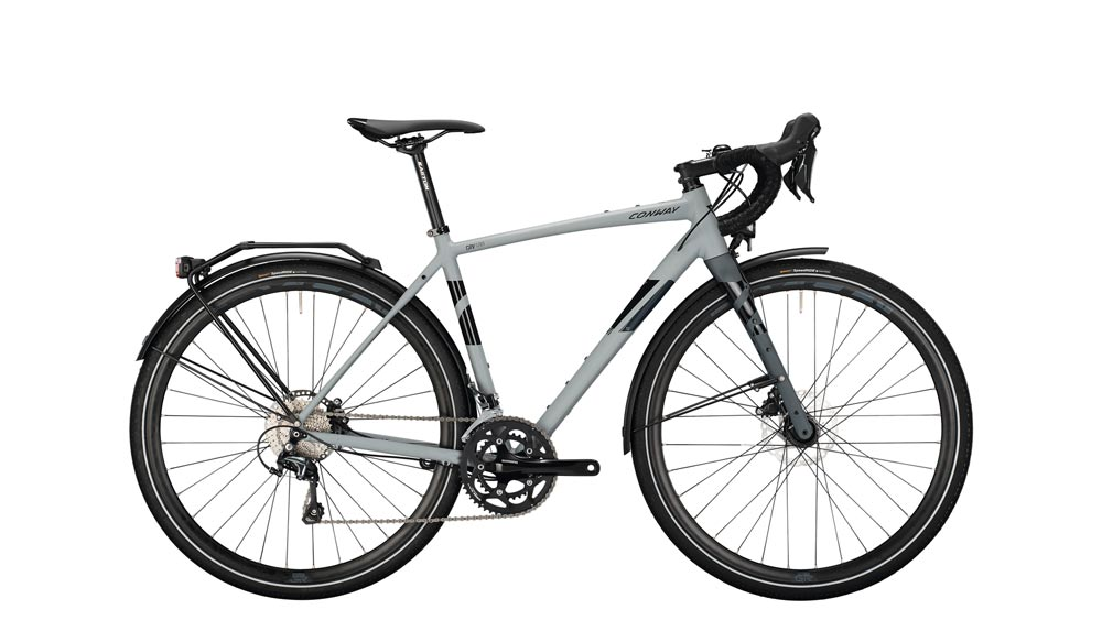 Gravel GRV 500 C M_51 cm 28 grey matt anthracite matt 20 Gang